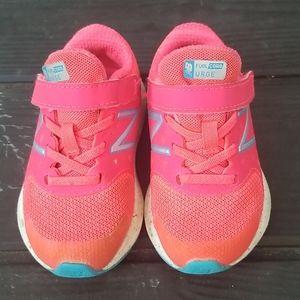 Hot pink new balance shoes